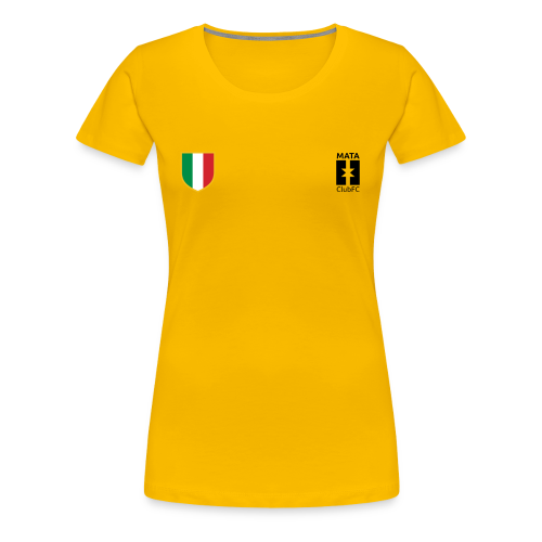 La Scudetto | Mata Club Football Culture - Maglietta Premium da donna