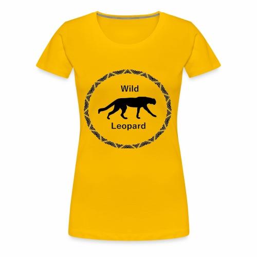 Wild Leopard - Frauen Premium T-Shirt