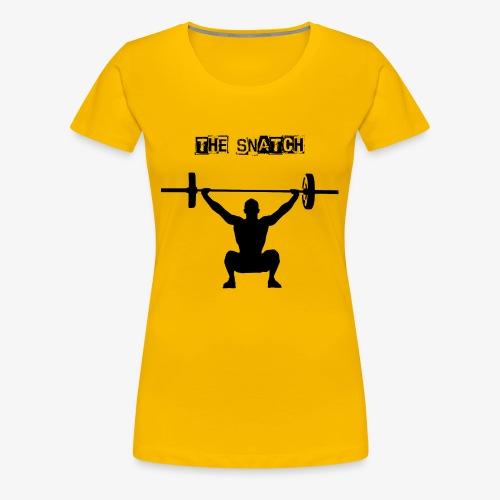 THE SNATCH BLACK - Vrouwen Premium T-shirt