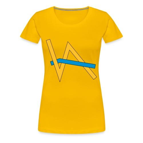 Vivian Aktjef - Kleidung (Kontrast) - Frauen Premium T-Shirt
