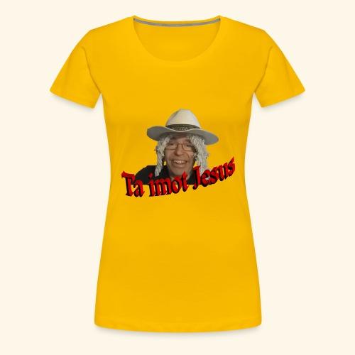Moppen på toppen - Premium T-skjorte for kvinner