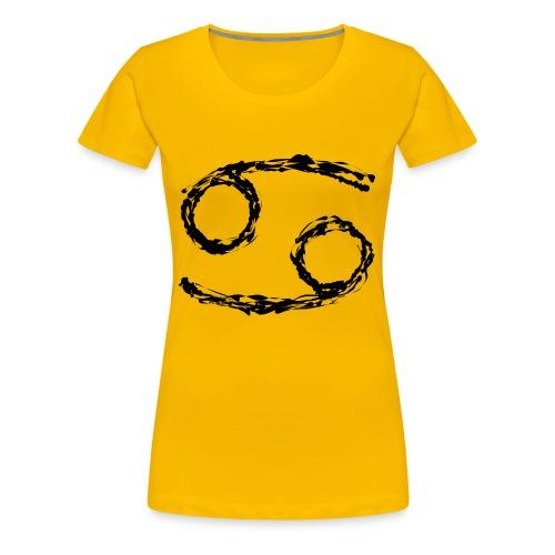 Sternzeichen: Krebs - Frauen Premium T-Shirt