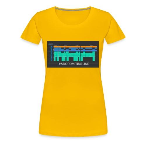 TIMELINE - Camiseta premium mujer