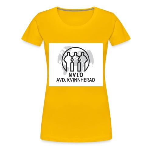 NVIO-Kvinnherad - Premium T-skjorte for kvinner