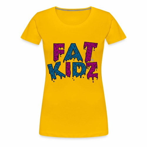 Fat Kidz - Premium-T-shirt dam