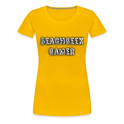 Classic BeachGeek - Women's Premium T-Shirt
