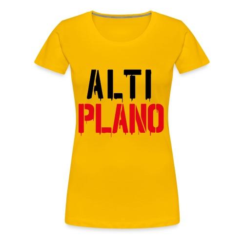 altiplano logo - Frauen Premium T-Shirt