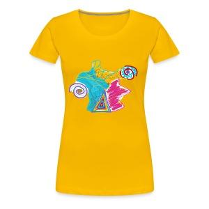 EyemonsterNDL2018 - Dame premium T-shirt