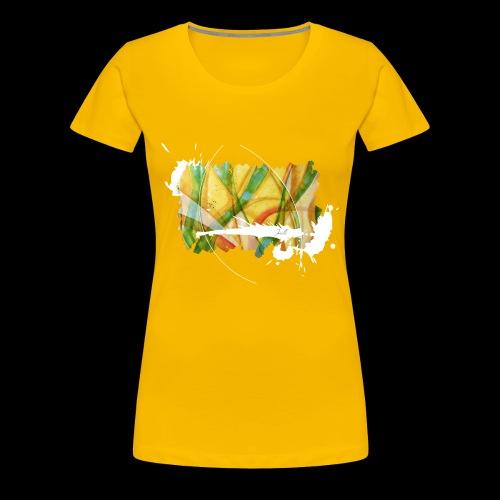 colourful waves - Frauen Premium T-Shirt