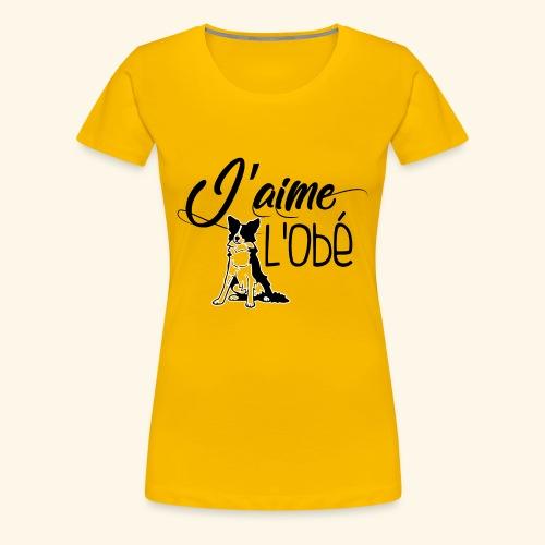obejump - T-shirt Premium Femme
