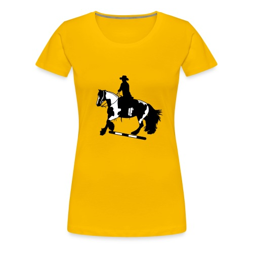 Tinker Galopp I Stange - Frauen Premium T-Shirt