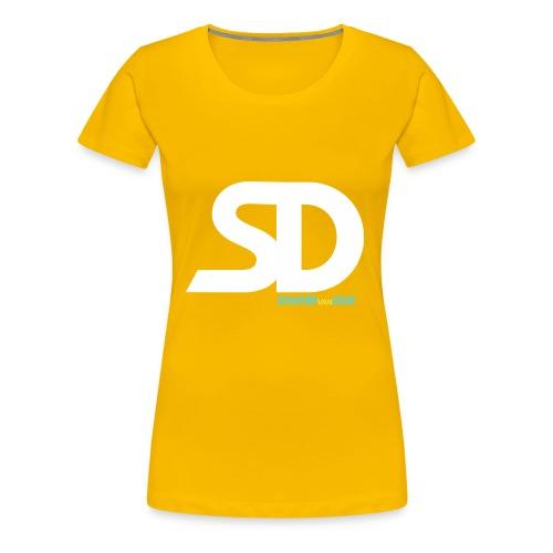 SD SNAPBACK - Vrouwen Premium T-shirt