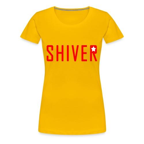 Shiver Logo - Women's Premium T-Shirt