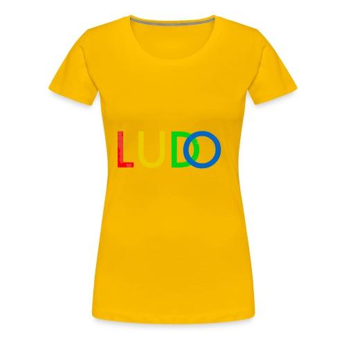 LUDO - Premium T-skjorte for kvinner