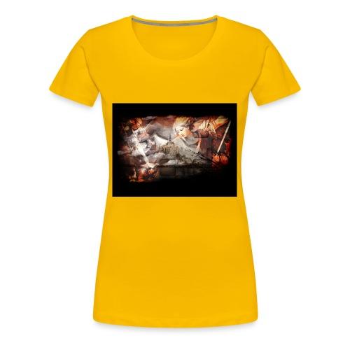 Archange Saint-Michel - T-shirt Premium Femme