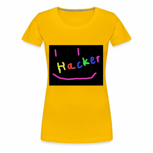 Hackermerch - Frauen Premium T-Shirt