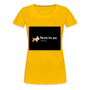 Peanut the Pug Edition - Women's Premium T-Shirt