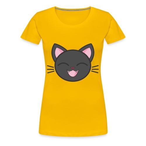 black cat - Frauen Premium T-Shirt