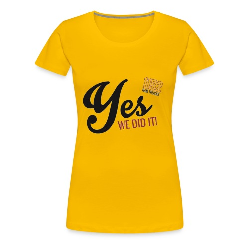 YES-1152.b - Frauen Premium T-Shirt