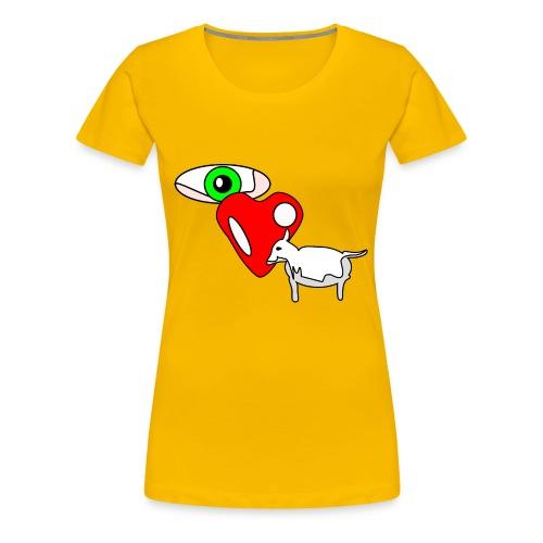 Eye luv Ewe - Women's Premium T-Shirt