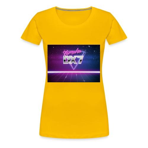 Yamaha DX7 - T-shirt Premium Femme