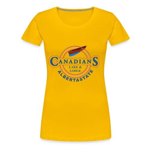 Arbeitspulli PNG - Frauen Premium T-Shirt