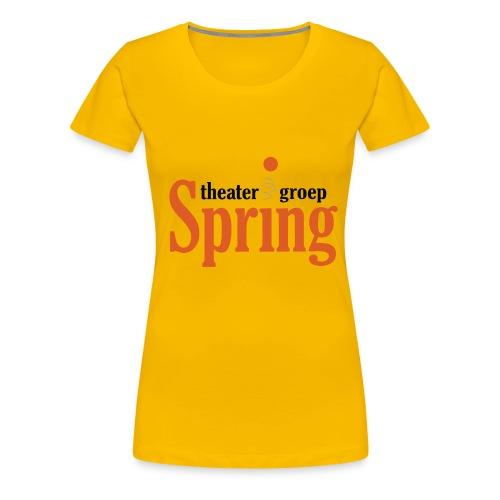 T-shirt met logo Theatergroep Spring | Unisex - Vrouwen Premium T-shirt