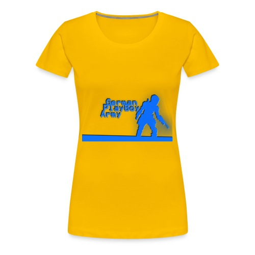 GermanPlayBoyMerch - Frauen Premium T-Shirt
