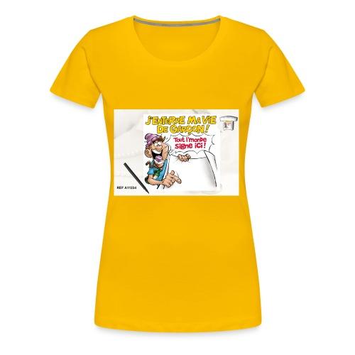 A11234 - T-shirt Premium Femme