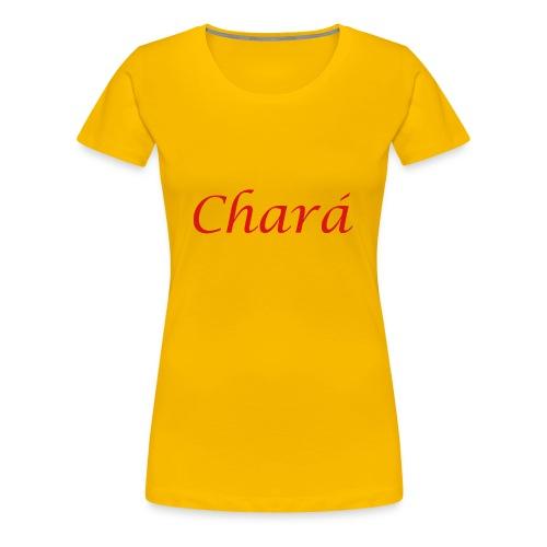 Chará design 1 - Women's Premium T-Shirt