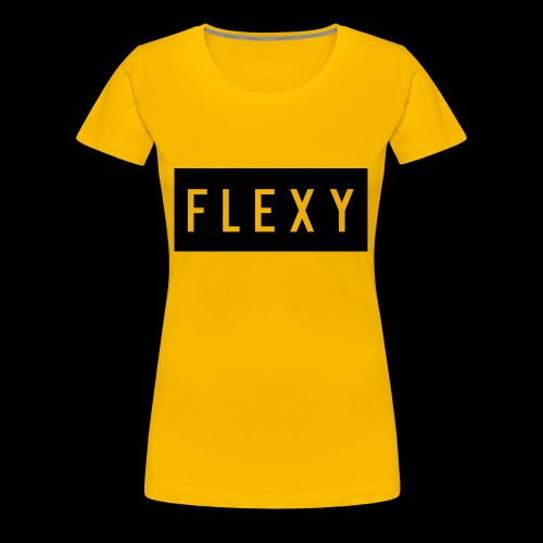 flexy shirt logo - Women's Premium T-Shirt