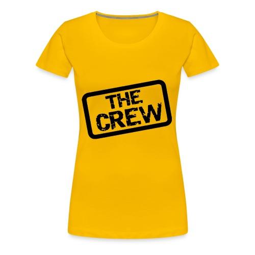 Crew logo - Premium-T-shirt dam