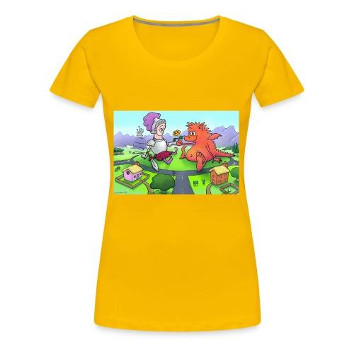 George - Women's Premium T-Shirt
