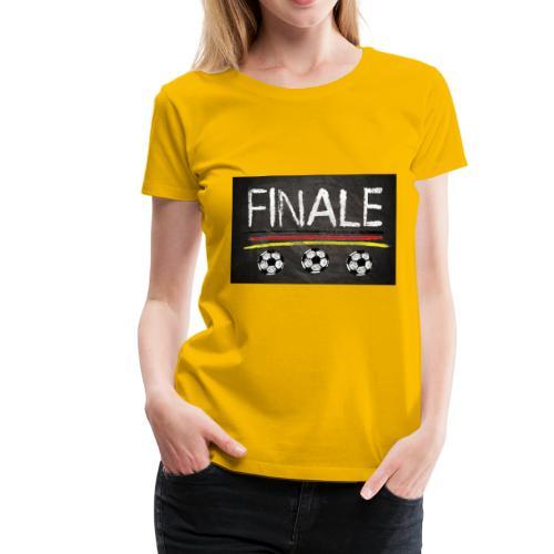 Finale Deutschland - Frauen Premium T-Shirt