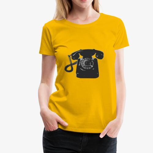 Telefon - Frauen Premium T-Shirt