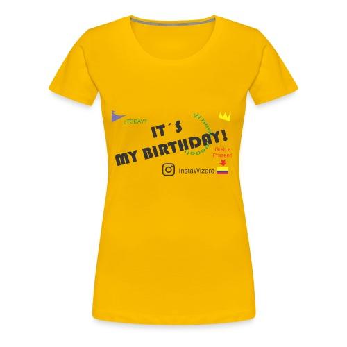 Birthday - Insta Wizard - Women's Premium T-Shirt