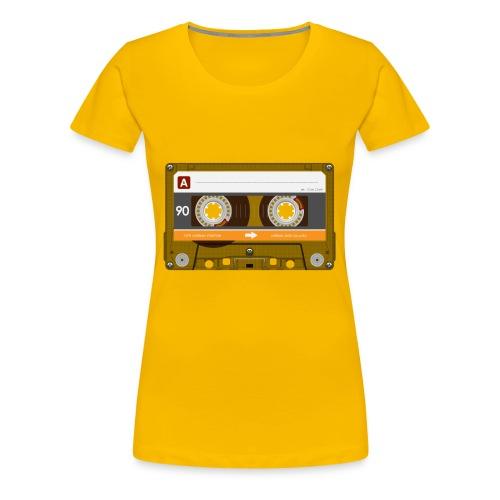 Cassette4 - Frauen Premium T-Shirt