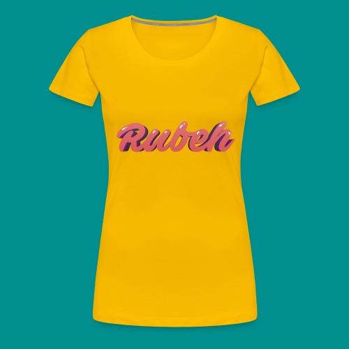 Rubeh Snapback - Vrouwen Premium T-shirt