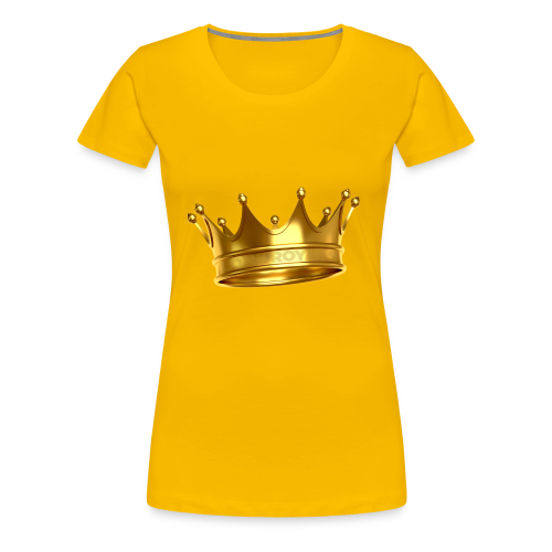 LONE ROYALS CROWN - Women's Premium T-Shirt