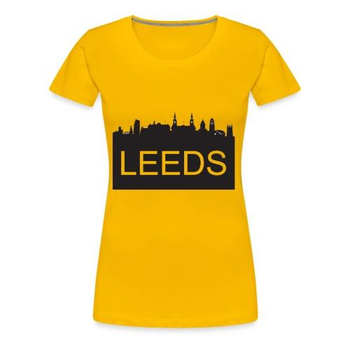TYS - Leeds Skyline - Women's Premium T-Shirt
