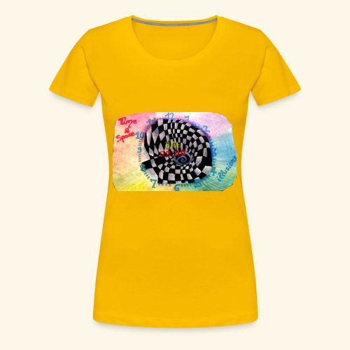 TIME - Frauen Premium T-Shirt