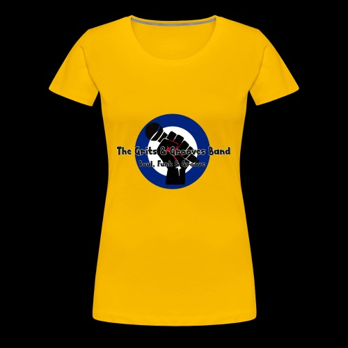 Grits & Grooves Band - Women's Premium T-Shirt
