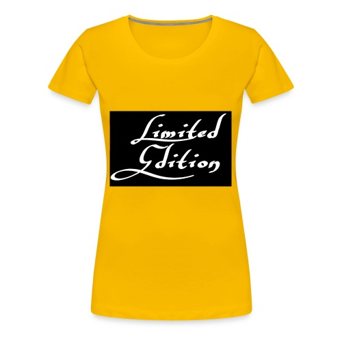 Limited edition - Naisten premium t-paita