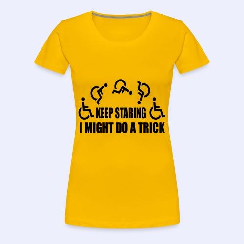 Mightdoatrick1 - Vrouwen Premium T-shirt