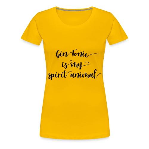 Gin tonic - Frauen Premium T-Shirt