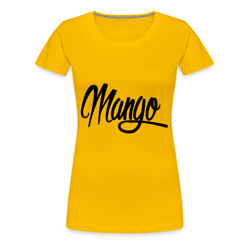 Mango Black Design Women - Vrouwen Premium T-shirt