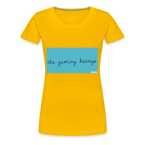 thegaminhenrijs merch - Women's Premium T-Shirt