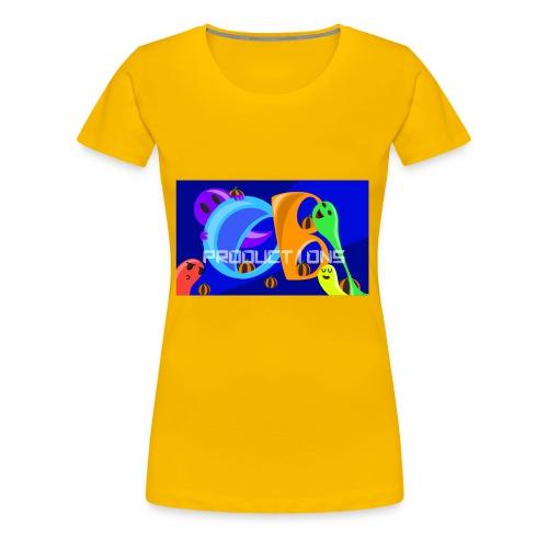 OB Productions Halloween 2017 Logo - Women's Premium T-Shirt