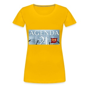 Agenda 21.bad - Women's Premium T-Shirt