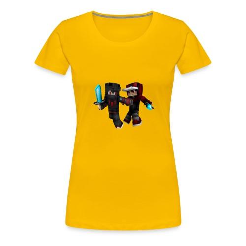 2 Sexy Typen - Frauen Premium T-Shirt